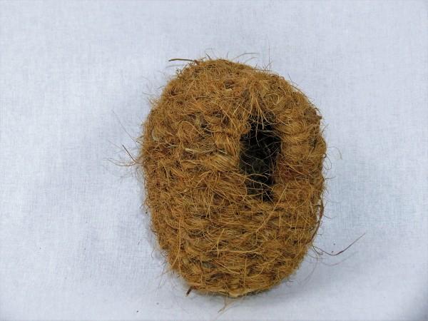 Kokos Nestkörbchen geschlossen