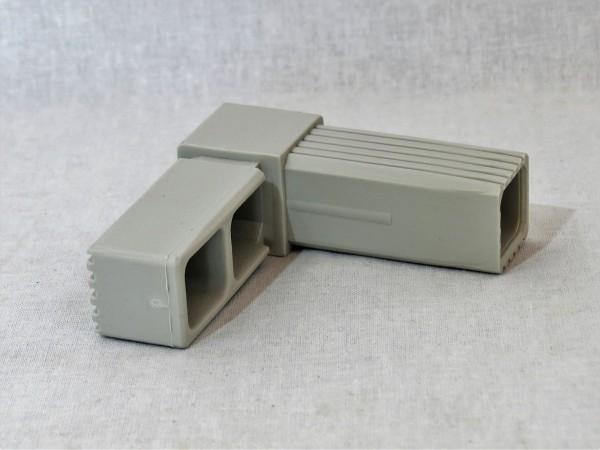Grauer Winkel, glasfaserverstärkt, 25 x 25 x 1,5 mm