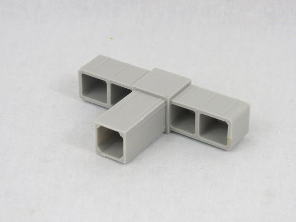 T-Stück, glasfaserverstärkt, 20 x 20 x 1,5 mm
