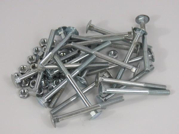 Schlossschrauben 50 Stück M5 x 60 mm