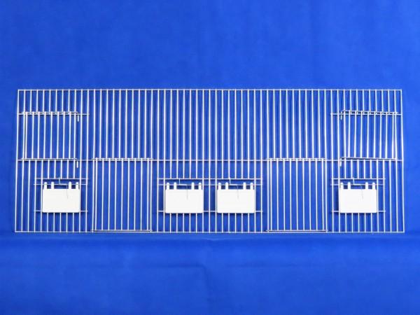 Vorsatzgitter zur Außenfütterung 80 x 30 cm