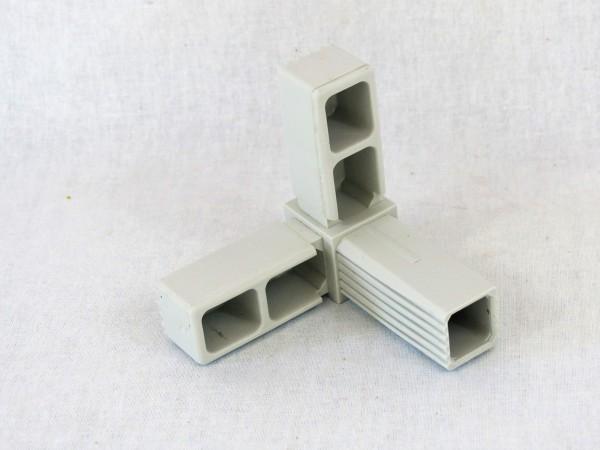 Winkel mit Abgang 25 x 25 x 1,5 mm