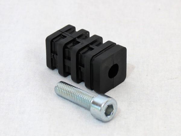 T-Verbinder mit Zylinderschraube M8 25 x 25 x 1,5 mm