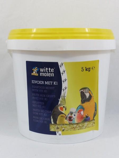 Eifutter mit Vitamine K1, gelb, 5kg