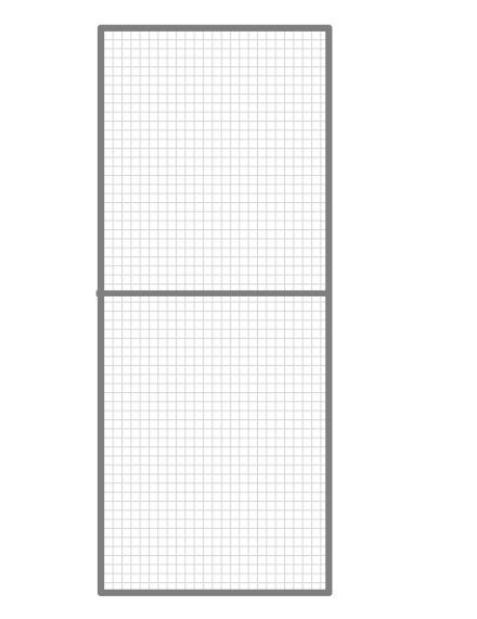 Volierenelement 62 x 200 cm