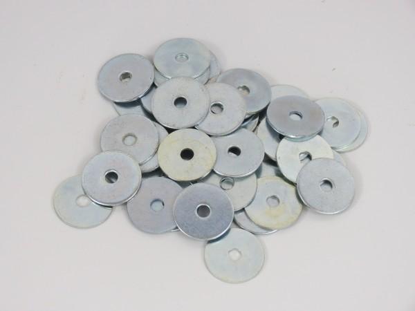 Kotflügelscheiben 100 Stück 4,3 x 20 mm