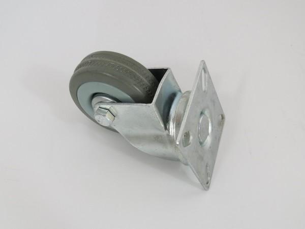 Transportrolle mit Platte zum Anschrauben 50 mm