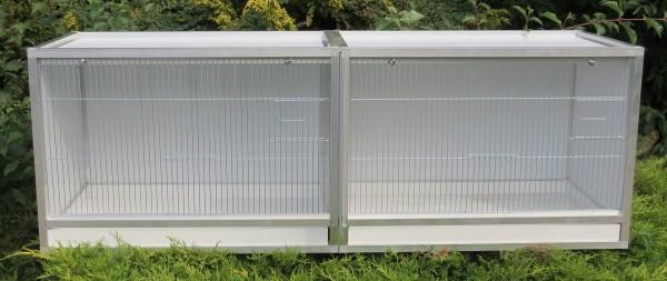 Panorama - Doppelbox   Kunststoffbox mit Alurahmen
