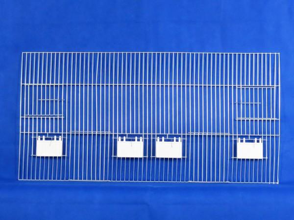 Vorsatzgitter zur Außenfütterung 80 x 40 cm