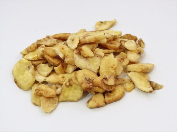 Geröstete Bananenchips, mit Honig