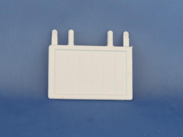 Ersatzklappen Plastik für Vorsatzgitter