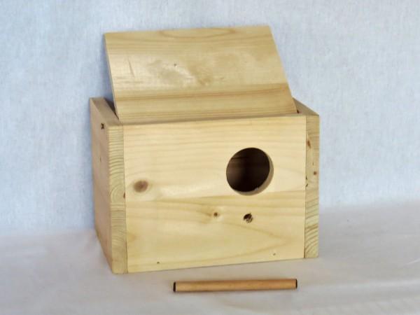 Holznistkasten waagrecht 24 x 15,5 x 15,5 cm