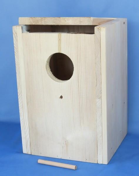 Holz-Nistkasten GS senkrecht