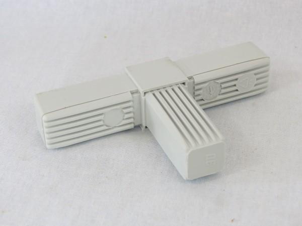 T-Stück mit Stahlkern 25 x 25 x 1,5 mm