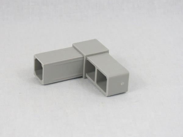 Grauer Winkel, glasfaserverstärkt, 20 x 20 x 1,5 mm