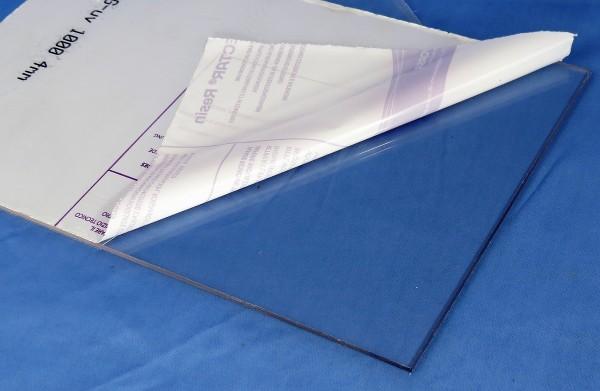 PET-G Kunststoffplatte 100 x 200 cm (2 qm)