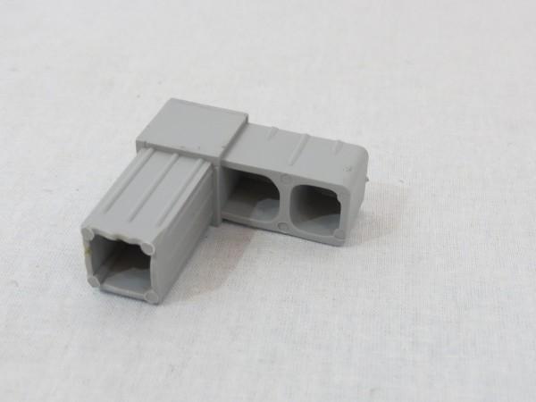 Grauer Winkel 20 x 20 x 1,5 mm