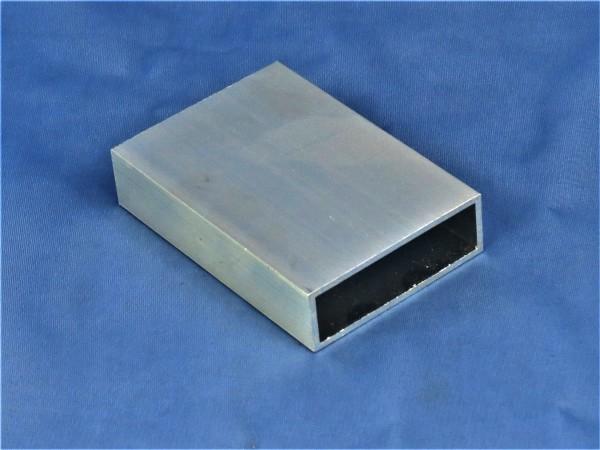 Aluminium-Vierkantrohr 60 × 20 × 2 mm