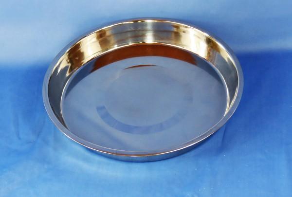 Edelstahl-Badeschale Ø = 35 cm