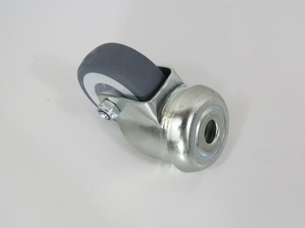 Transportrolle mit Mittelloch 50 mm