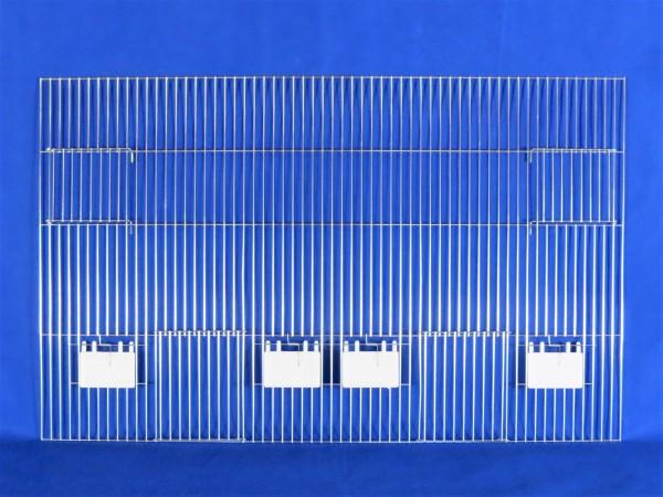 Vorsatzgitter zur Außenfütterung 80 x 50 cm